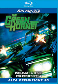 the green hornet blu ray