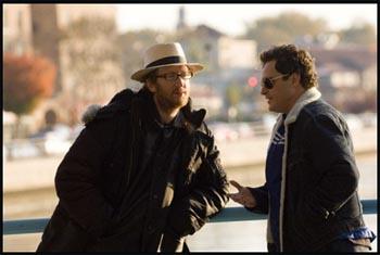 James Gray e Joaquin Phoenix sul set di Two Lovers