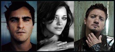 Joaquin Phoenix, Marion Cotillard, Jeremy Renner per LOW LIFE di James Gray