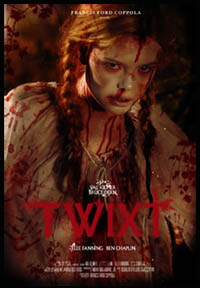 Elle Fanning - promo poster - TWIXT di Francis Ford Coppola