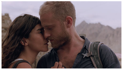 Ben Foster & Lubna Azabal in HERE di Braden King