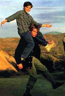 Joaquin e River Phoenix da ragazzi