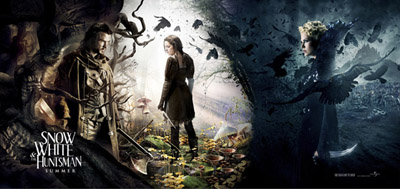 Snow White and The Huntsman - trailer, poster, foto e video dal set