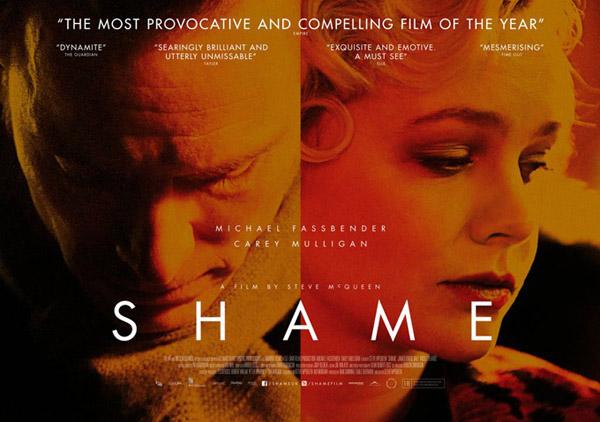 Shame (il poster UK): tutti i dettagli sulla colonna sonora