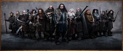 The Hobbit: An Unexpected Journey. La compagnia dei Nani