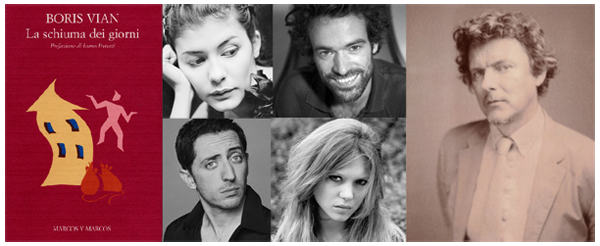 Michel Gondry adatta L'Écume des jours. Il cast: Audrey Tatou, Romain Duris, Léa Seydoux e  Gad Elmaleh