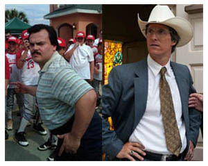 Jack Black e Matthew McConaughey in BERNIE di Richard Linklater