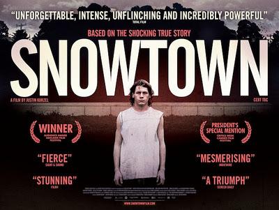 Snowtown, film di debutto dell'australiano Justin Kurzel. Il poster