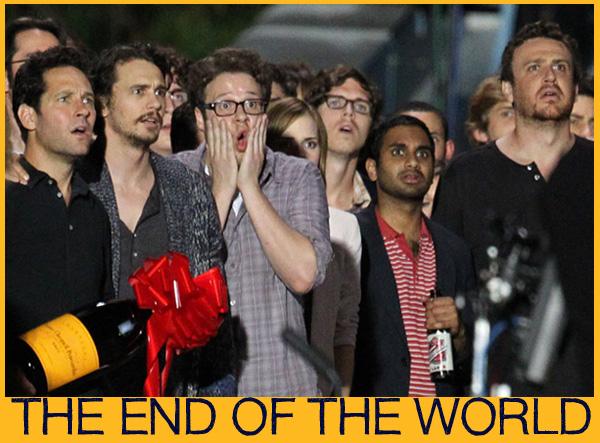 The End Of The World: Paul Rudd, James Franco, Emma Watson, Seth Rogen, Aziz Ansari, Jason Segel
