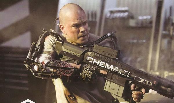 Matt Damon in ELYSIUM di di Neill Blomkamp, la prima foto