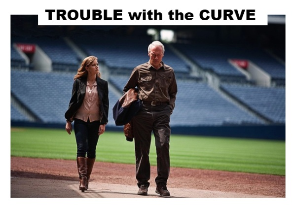 Trouble with the curve: Clint Eastwood e Amy Adams
