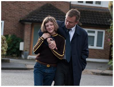Eloïse Laurence e Tim Roth in BROKEN, di Rufus Norris