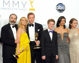 Il cast di Homeland agli Emmys