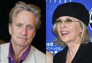 Michael Douglas e Diane Keaton