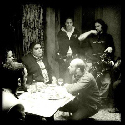 Sul set del nuovo film di Fabrice Du Welz COLT 45