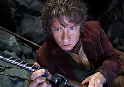 Martin Freeman in Lo Hobbit - Un viaggio inaspettato, di Peter Jackson