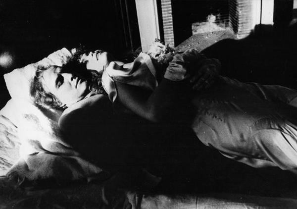 Maria Schneider, Marlon Brando, ULTIMO TANGO A PARIGI di Bernardo Bertolucci, 1972