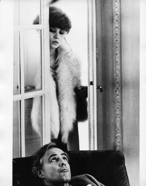Maria Schneider, Marlon Brando, ULTIMO TANGO A PARIGI di Bernardo Bertolucci
