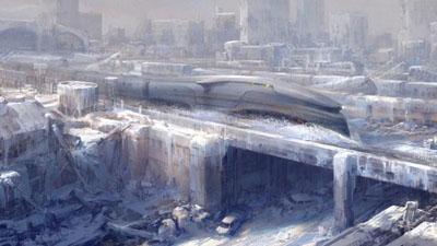 Snowpiercer di Bong Joon-Ho. Concept art