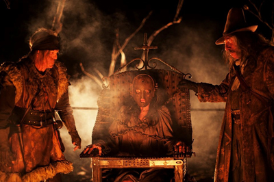 Michael Berryman e Sid Haig in THE LORDS OF SALEM
