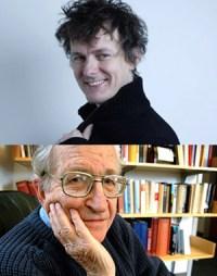 Michel Gondry e Noam Chomsky