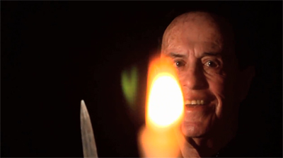Kenneth Anger nel video di James Franco