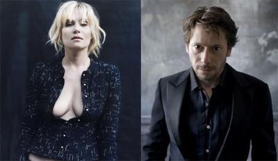 Emmanuelle Seigner, Mathieu Amalric. Protagonisti di VENUS IN FUR