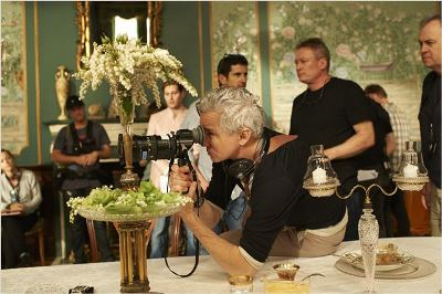 baz luhrmann sul set di The Great Gatsby