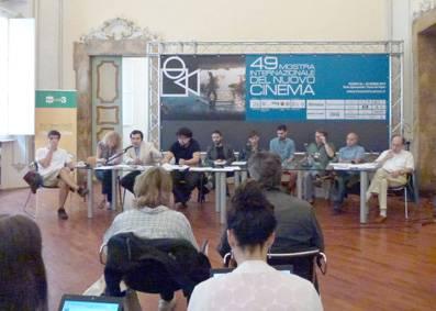 Pesaro 49, Incontro con i registi cileni
