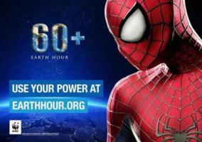 Spider-man per Earth Hour