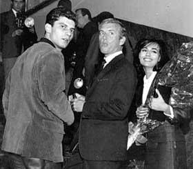 Luigi Tenco e Luciano Salce