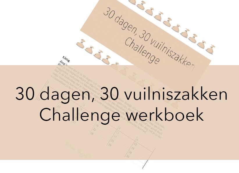 30 dagen, 30 vuilniszakken Challenge werkboek