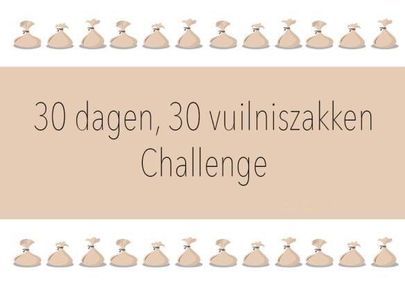30 dagen, 30 vuilniszakken challenge