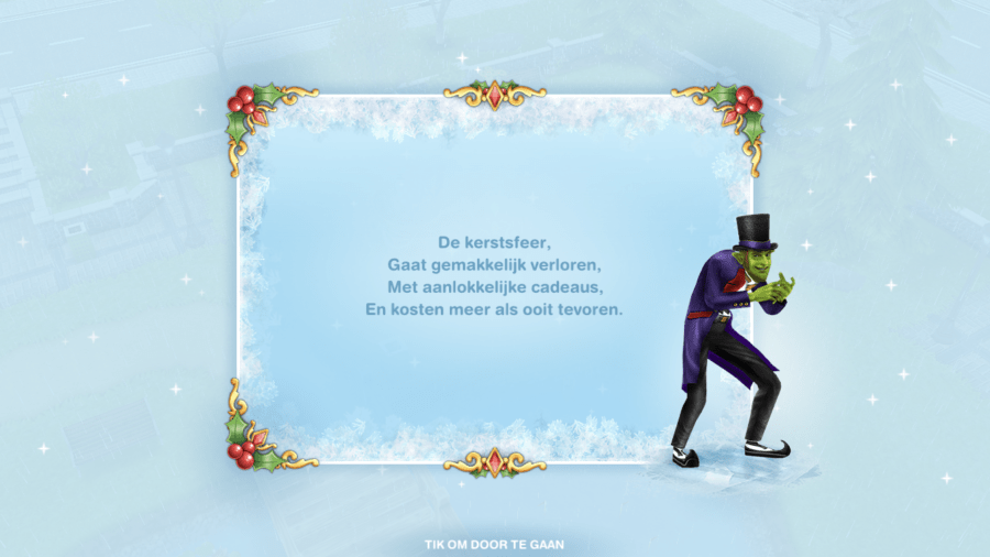 De Sims Freeplay Walkthrough - Sneeuwprobleem