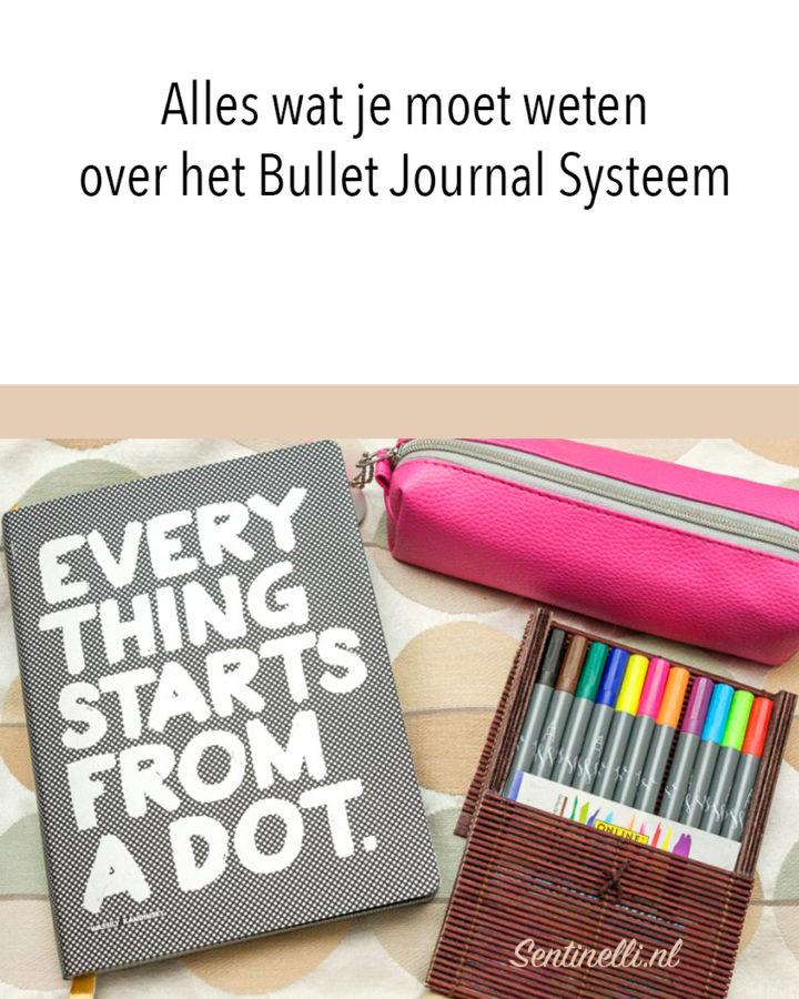 Alles wat je moet weten over het Bullet Journal Systeem