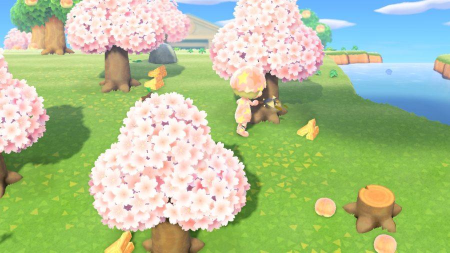 Animal Crossing - New Horizons - houte hakken