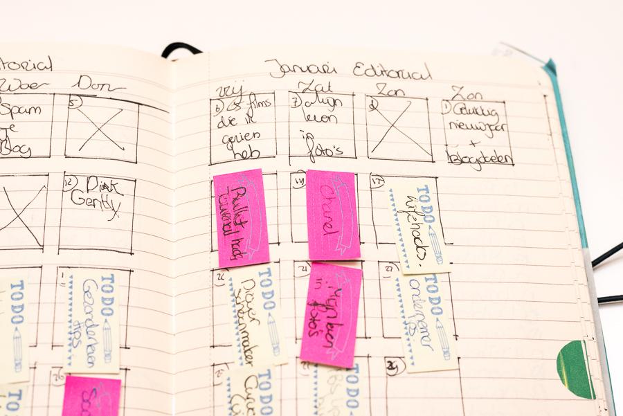 Bullet Journal Hacks - sticky notes