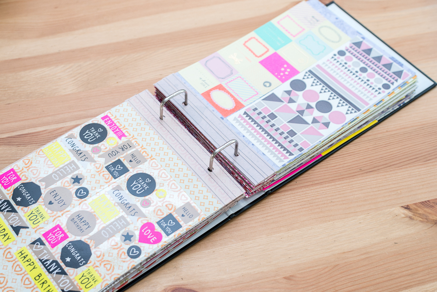 DIY Stickerboek maken