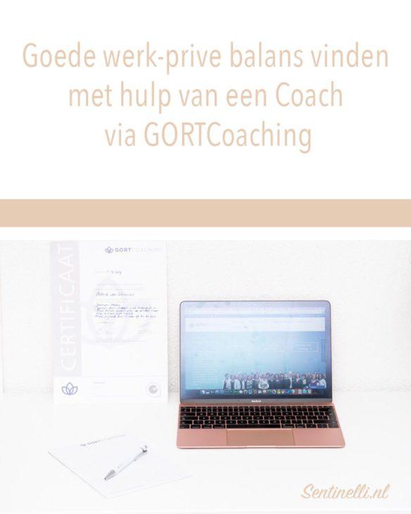 Goede werk-prive balans vinden met hulp van een Coach via GORTCoaching