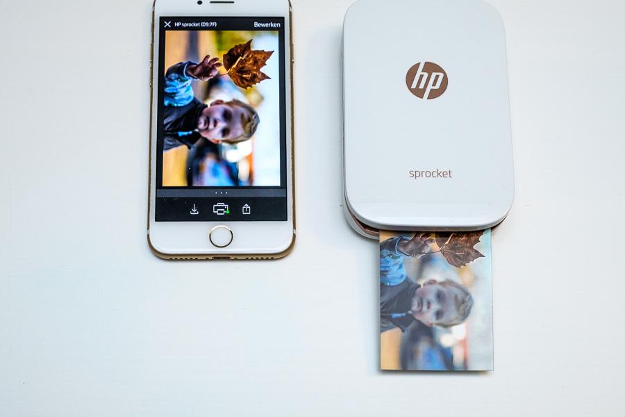 HP Sprocket - Compacte fotoprinter op zakformaat en foto's printen op zero INK papier