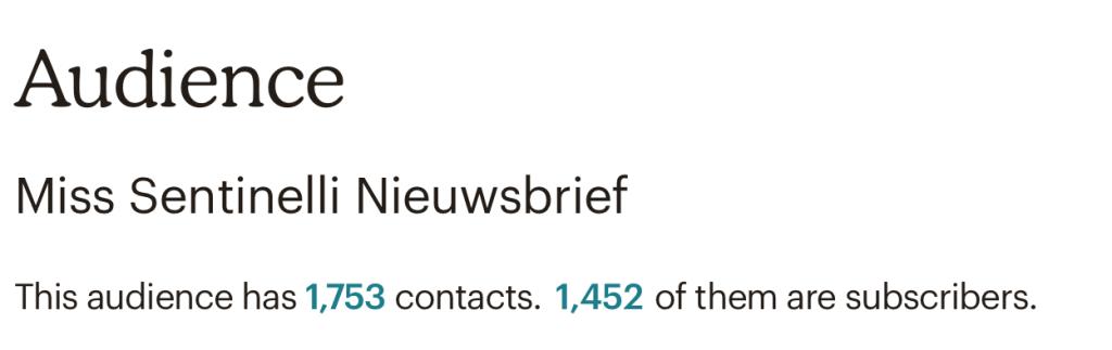 Hoe ik in december & januari 1.847,13 Euro (+ 125 Euro aan barterdeals) verdiende met bloggen en werk als Virtual Assistant - Nieuwsbrief MailChimp