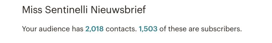 Hoe ik in juni 1.669,75 euro verdiende met bloggen en werk als Virtual Assistant - Nieuwsbrief Mailchimp