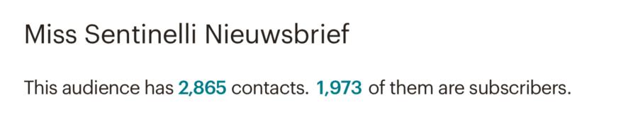 Hoe ik in juni 608,58 Euro (+ 350 Euro aan barterdeals) verdiende met bloggen en werk als Virtual Assistant - mailchimp