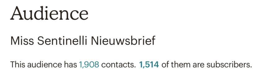 Hoe ik in maart 1.978,52 euro verdiende met bloggen en werk als Virtual Assistant - Mailchimp