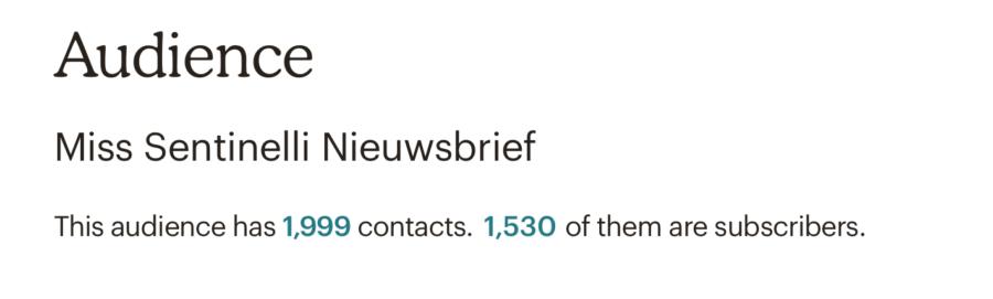 Hoe ik in mei 2.041,15 euro verdiende met bloggen en werk als Virtual Assistant - Mailchimp