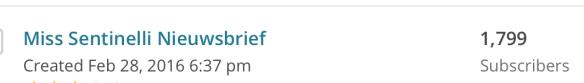 Hoe ik in mei 427,69 Euro verdiende + 123,87 Euro aan barterdeals met bloggen en werk als Virtual Assistant - Mailchimp