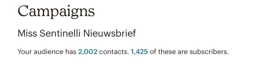 Hoe ik in september 1.518,99 euro (+ 200 euro aan barterdeals) verdiende met bloggen en werk als Virtual Assistant - Mailchimp