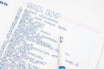 Hoe je jouw hoofd leeg kunt maken met een Brain Dump