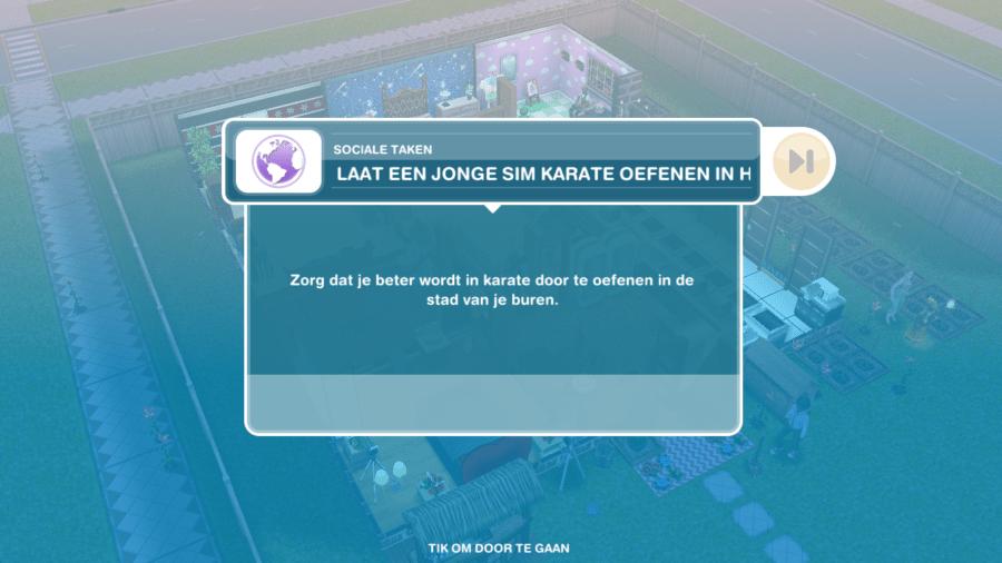 The Sims Freeplay: buren