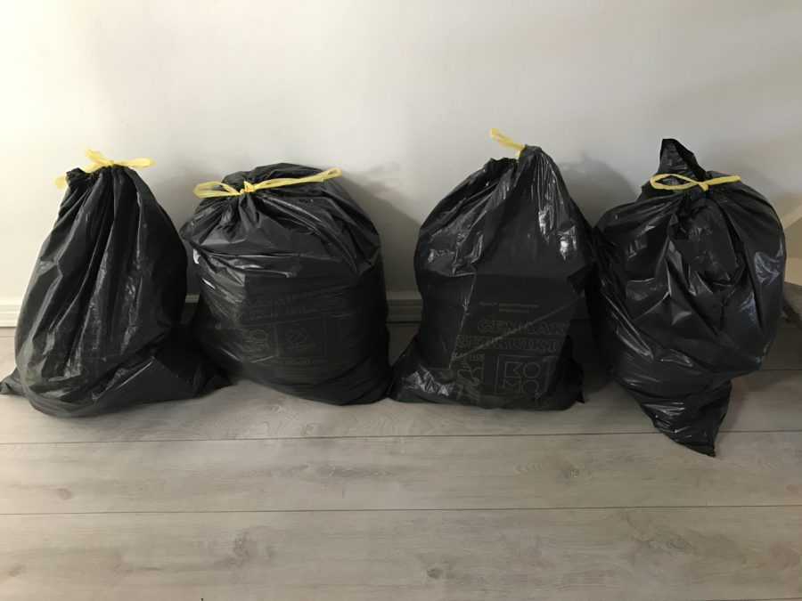 Mijn leven in foto's #60 - 30 dagen, 30 vuilniszakken challenge